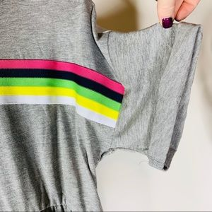 ASOS Dresses - NWT ASOS Mini Smock Dress with Rainbow Tipping
